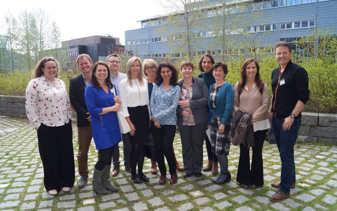 1st Erasmus+ PINN Learning Exchange Visit to Norway May 2018