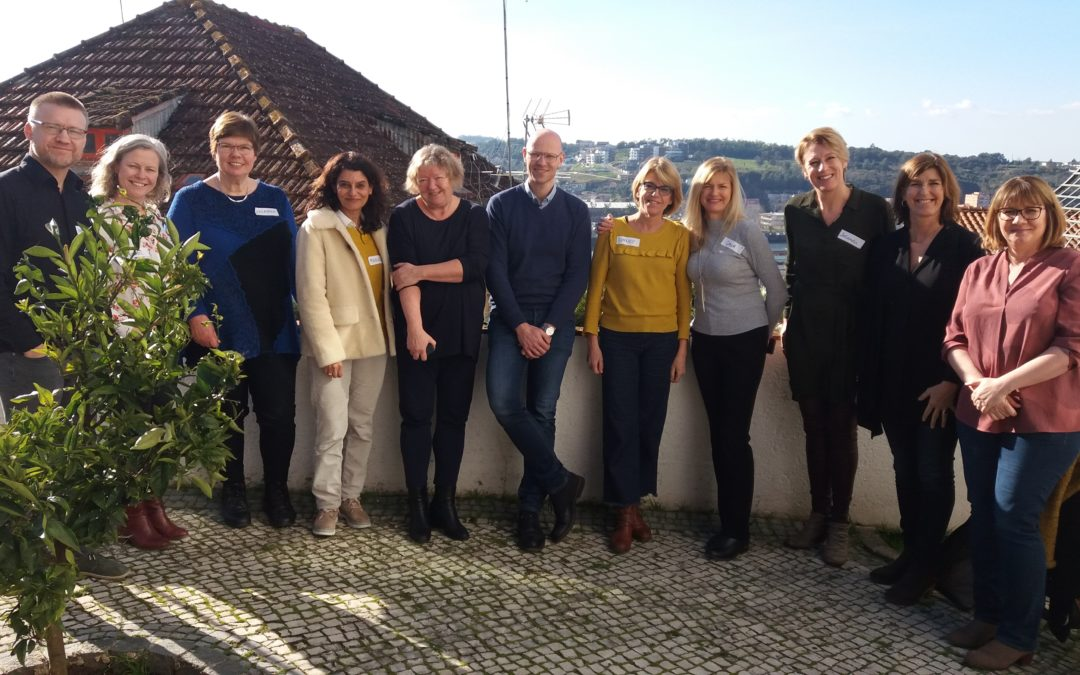 2nd Erasmus+ PINN Learning Exchange Visit to Portugal January 2019